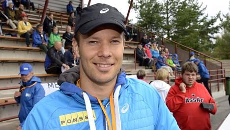 Tero Pitkämäki aloitti mainiosti.