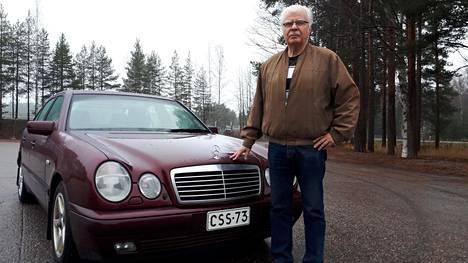 """Raimo Laurilan """"Väyrysen"""" mittari on kohta """"ajettu ympäri""""."""