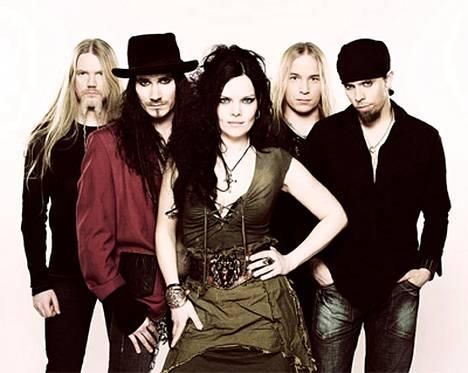 Tässä on uusi Nightwish solistinsa kanssa.