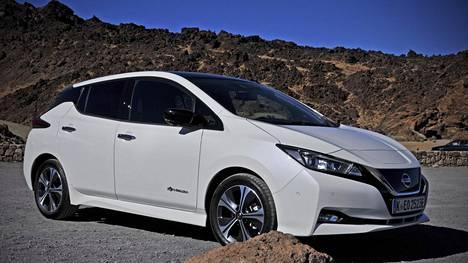 Nissan Leaf G2 40 kWh Tekna 2018.