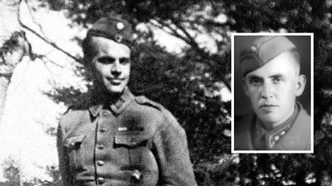 Mannerheim-ristin ritari numero 95 Tuomas Gerdt kantoi taistelun keskellä haavoittuneen päällikkönsä Caj Tofferin (oik.) suojaan.