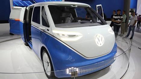 IS Hannoverissa: Tässä on legendaarisen Volkswagen Kastenwagenin manttelinperijä