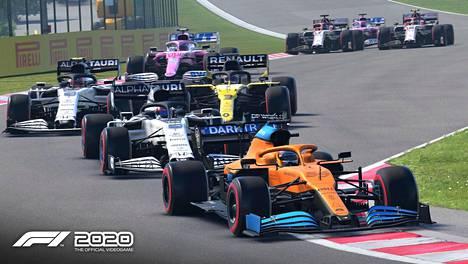 F1 2020:ssa koronavirusta ei tunneta. Pelaaja pääsee ajamaan kaikki 22 osakilpailua ja uusina ratoina ovat Hollannin Zandvoort ja Vietnamin Hanoin katurata.