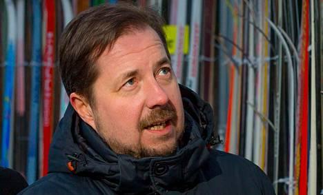 Jukka-Pekka Vuori on Hiihtoliiton puheenjohtaja.