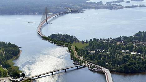 Kruunuvuorenrannan ja kantakaupungin yhdistävä siltahanke Helsingissä tulee arvioitua kalliimmaksi.