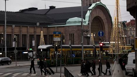 Helsingin rautatieasemaa käyttää päivittäin jopa 250 000 ihmistä.
