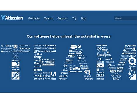 Atlassian onnistui saamaan pörssilyhenteeksi sanan Team.