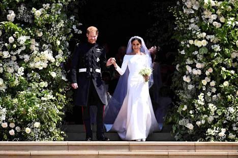 Yksi viihdemaailman suurimpia tapahtumia oli prinssi Harryn ja Meghanin häät toukokuun 19. päivä 2018.