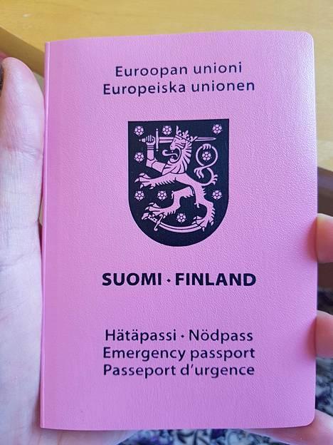 Ana pääsi matkustamaan Iranista takaisin Suomeen hätäpassilla vuonna 2018.