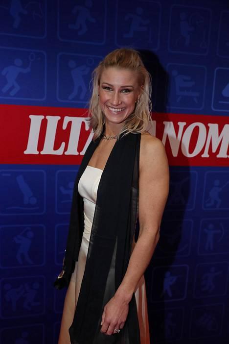 Hanna-Maria Seppälä on ensimmäinen suomalainen uinnin maailmanmestaruuden voittanut nainen.
