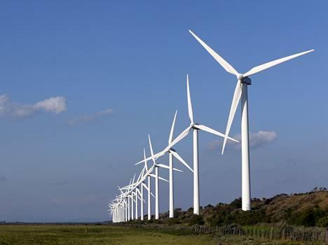 Tuulivoimaa Ranskassa.