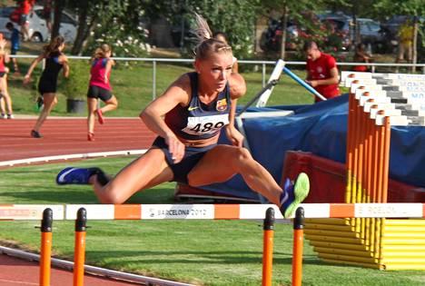 Annimari Korte on päässyt tänä kesänä kisaamaan lähes viiden vuoden tauon jälkeen. Tulokset ovat yllättäneet urheilijan itsensäkin.