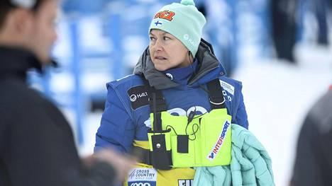 Kerttu Helynen on ollut viime vuosien aikana tuttu näky maailmancupin hiihtokilpailuissa.