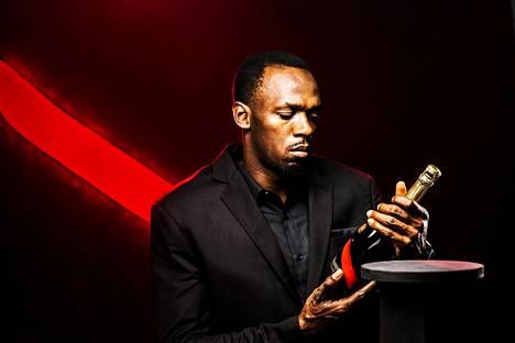 Usain Bolt toimii myös ranskalaisen samppanjamerkin keulakuvana.