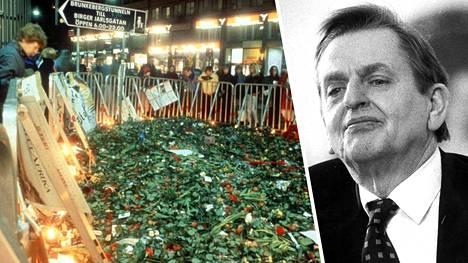 Olof Palmen murhasta tulee ensi viikolla kuluneeksi 34 vuotta.