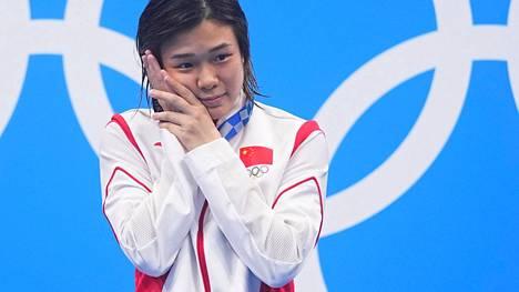 Shi Tingmao voitti Tokiossa kaksi uimahyppykultaa.