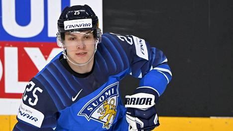 Jere Karjalainen sai peliaikaa kolmessa ottelussa.