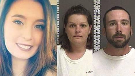 Savannah Greywindin murhasta epäiltynä vangittiin Brooke Crews ja William Hoehn.