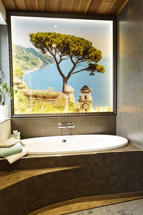 Villa Tangon kylpyhuone.