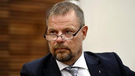 Keskusrikospoliisin (KRP) päällikkö Robin Lardot Helsingin hovioikeudessa 25. kesäkuuta 2020.