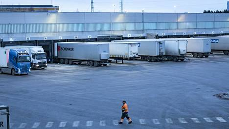Logistiikkakeskus Vantaalla tämän vuoden tammikuussa.