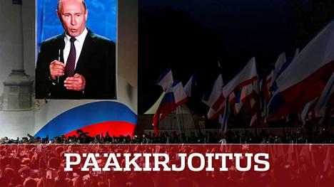 Vladimir Putinin vaalikamppailun loppusuoralla Venäjän presidentti haluaa korostaa valtaansa ja voimaansa.