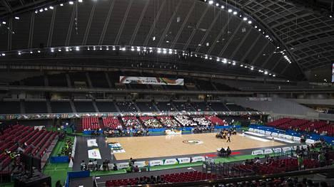 Tokiossa valmistaudutaan kiivaasti ensi kesänä siellä järjestettäviin olympialaisiin.