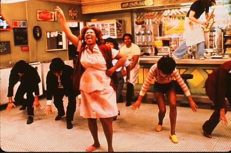 Aretha Franklin teki näyttävän roolisuorituksen The Blues Brothers -elokuvassa.