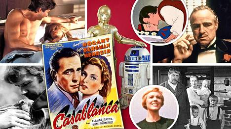 Suoratoistopalveluista voi löytää myös muutamia todellisia klassikkoelokuvia. Montako olet jo nähnyt?