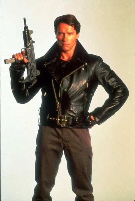 Terminaattori valoi Schwarzeneggerin uran 1984.