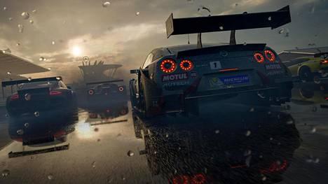 Kisan aikana muuttuvat sääolosuhteet ovat yksi Forza Motorsport 7:n uudistuksista.