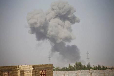 Taistelut Isisiä vastaan käyvät tällä hetkellä erityisen kiivaina Fallujan kaupungissa.