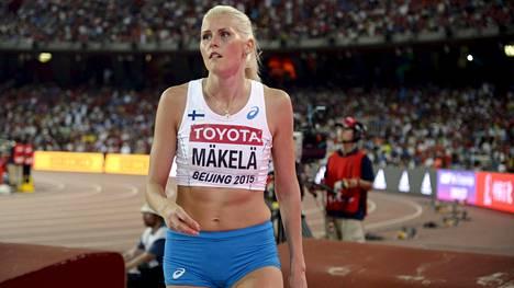 Kristiina Mäkelä loikki EM-finaaliin.