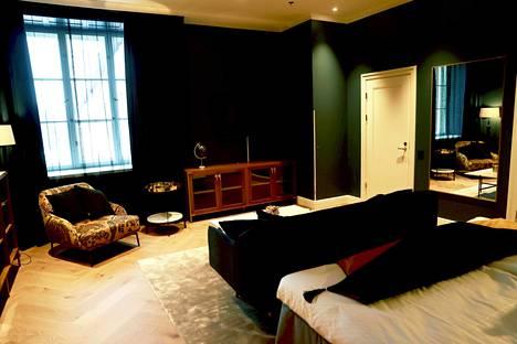 Master suite on värikäs.