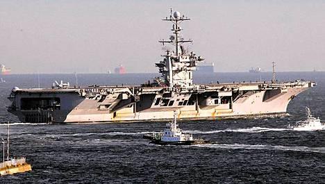 George Washington lähti keskiviikkona Yokosukan tukikohdasta Japanista.
