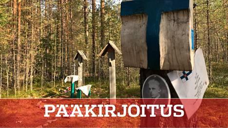 Sandarmohin joukkohaudat ovat yksi paikka, jonne suomalaisten tie Neuvostoliitossa päättyi Josif Stalinin toimeenpanemissa vainoissa.