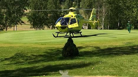 Pelaaja kuoli kesken golfkilpailun Mäntsälässä