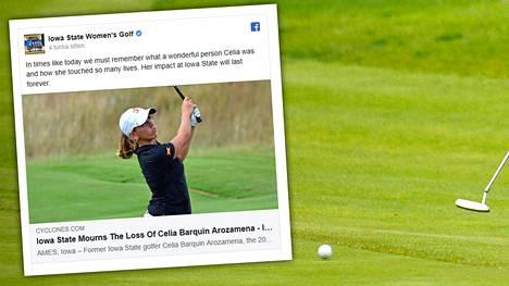 Hylätty laukku johti karmean teon jäljille – 22-vuotias lahjakkuus löytyi kuolleena golfkentältä Iowassa