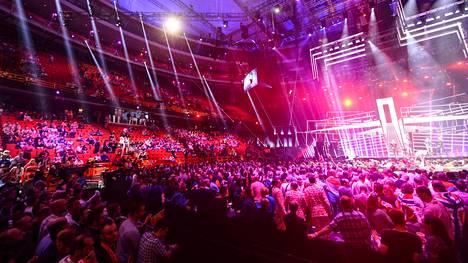 Euroviisut järjestettiin viime vuonna Tukholmassa. Yleisöllä on aina ollut iso rooli viisujen tunnelman luomisessa.