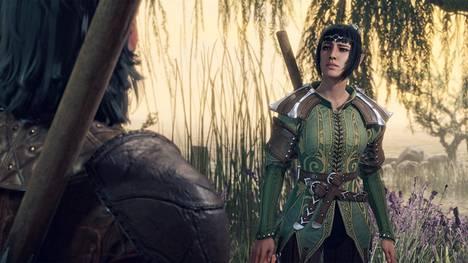 Haltiapapitar Shadowheart on yksi pelaajan mukana kulkevista ja myöhemmin myös pelattavissa olevista hahmoista.