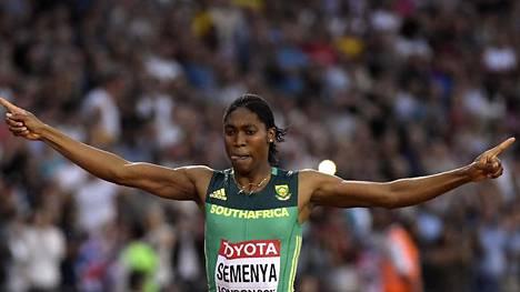 Semenya otti Lontoon MM-kisoista kaksi mitalia.