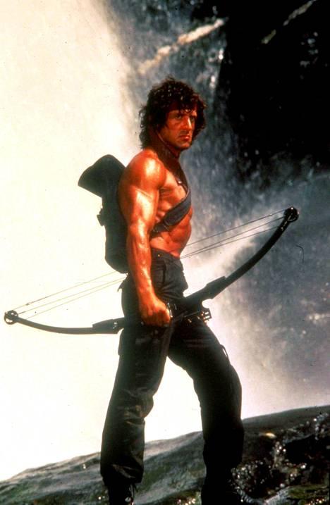 Stallone on näytellyt jo neljästi John Rambon roolin suoraviivaisessa kostotarinassa.