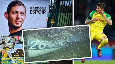 Emiliano Sala katosi 21. tammikuuta matkalla Nantesista Cardiffiin. Robottisukellusveneen kamera kuvasi häntä kuljettaneen koneen hylyn.
