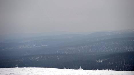 Urho Kekkosen kansallispuiston maisemaa.
