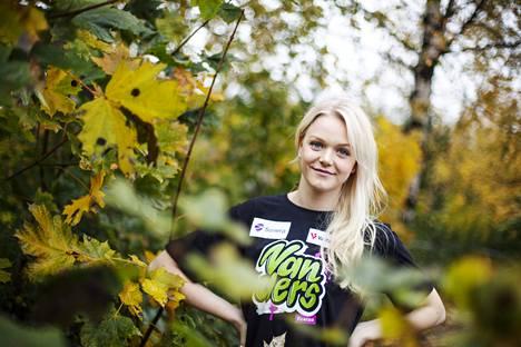 Emilia Pikkarainen Vantaalla lokakuussa 2014.