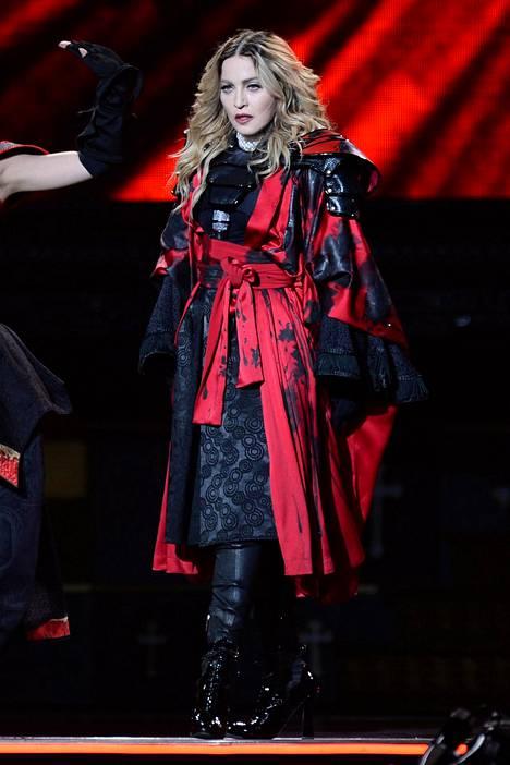 Madonna on kärsinyt viime aikoina terveysongelmista.