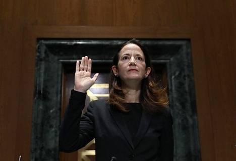 Avril Haines on kansallisen tiedustelun uusi johtaja.