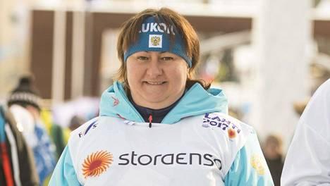 Jelena Välbe ei perusta älypuhelimen ihmeistä urheilun parissa.