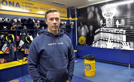 Kalle Sahlstedt on tehnyt vahvaa työtä Lukon urheilujohtajana viime vuodet.