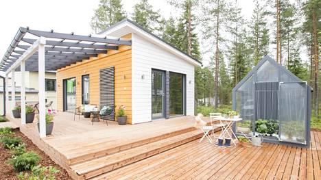 33-neliöinen Jukkatalon Mesi esiteltiin Seinäjoen asuntomessuilla viime kesänä.